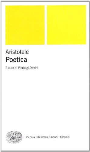 Poetica. Testo greco a fronte
