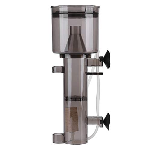 Nikou Protein Skimmer - Acuario Protein Skimmer Que cuelga en la Bomba Filtro de Agua Salada Filtro Interno Acuario Marino Skimmer del Tanque de Agua para el Acuario Marino (tamaño : 2: 10cm)