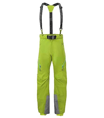Mountain Equipment EQUIPAGGIAMENTO da Montagna Pantaloni da Escursionismo Invernale Diamir Pantaloni protettivi da Donna con Guscio Rigido in Gore-Tex PRO Verde, Dimensione:38-40 (M)