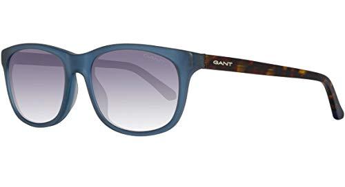 Gant heren Sonnenbrille GA7085 5491A zonnebril, blauw (Blau), 54