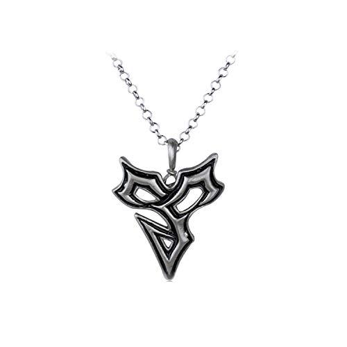 Hzzzzz Anime Final Fantasy X Titus Symbol Triangle Pendant Necklace