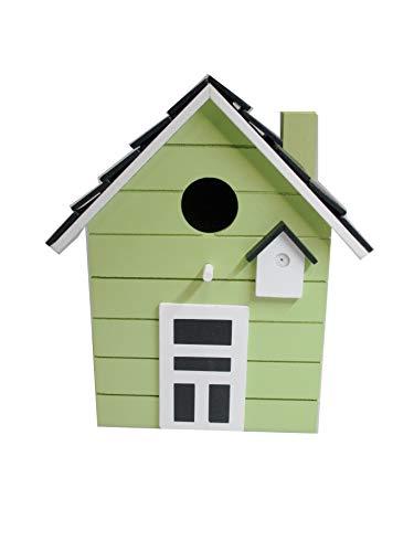 Maison d'oiseau nichoirs coloré 20cm (tilleul)