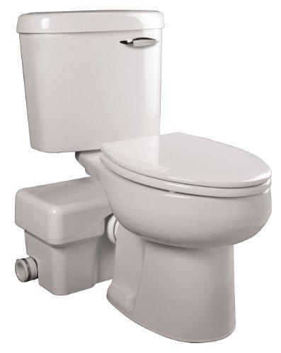 Liberty Macerating Toilet, Round, 1/2 HP, 115V
