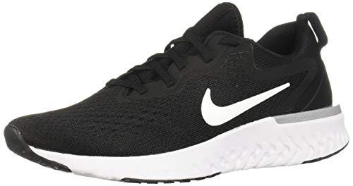 Nike Womens Odyssey React Running Shoes Black/White/Wolf Grey 8.5
