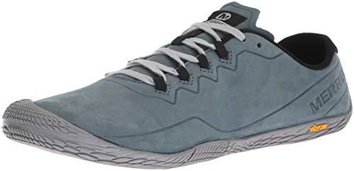 Merrell Herren Vapor Glove 3 Luna Leather Sneaker, Grau (Slate), 41 EU