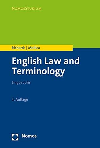 English Law and Terminology: Lingua Juris (Nomosstudium)