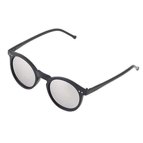 ukYukiko Vintage Retro Unisex spiegel lens ronde bril Steampunk zonnebril BZ017