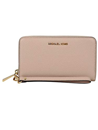 Luxury Fashion | Michael Kors Dames 34F9GM9E3L187 Roze Leer Portemonnees | Lente-zomer 20