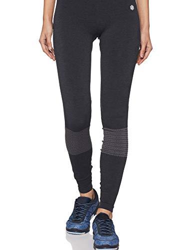 ASICS - Pantaloni Senza Cuciture da Donna, Donna, Aderente, 153431-0903, Performance Black Heather, XS