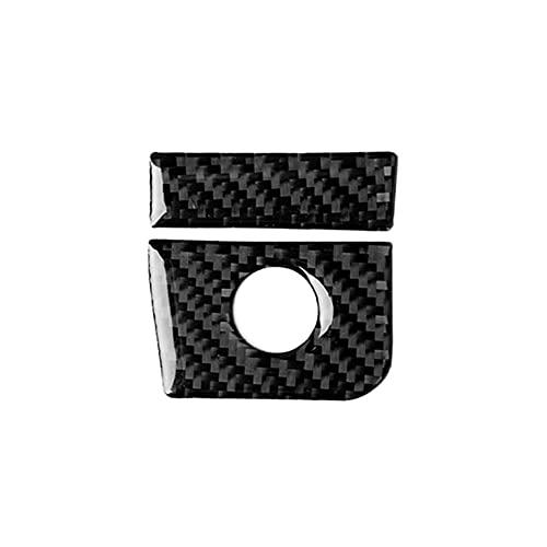 HUAER Caja de Almacenamiento de automóviles Ajuste para Ford Mustang 2015-19 Pegatina Interior Resistente al Desgaste