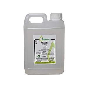 2 litros de GLICERINA VEGETAL EP USP GRADO ALIMENTARIO COSMÉTICO PURA Y NATURAL, incoloro e inodoro