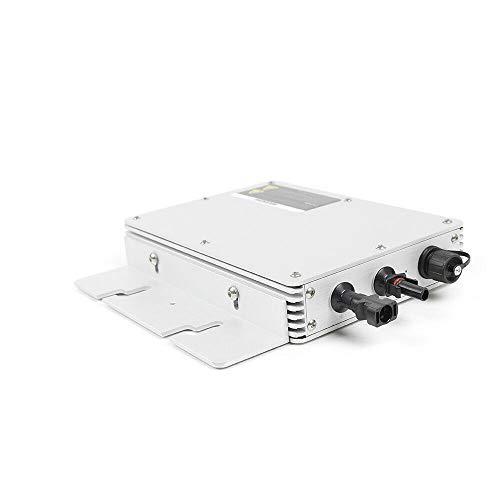 MPPT Spannungswandler 300W/600W/1200W Wechselrichter Konverter, Micro Solar Photovoltaik Wechselrichter Kit AC Umwandler Stromwandler IP65 (WVC-300)