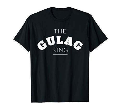 Herren The Gulag King Funny Joke Duty Call Warzone Video Game T-Shirt