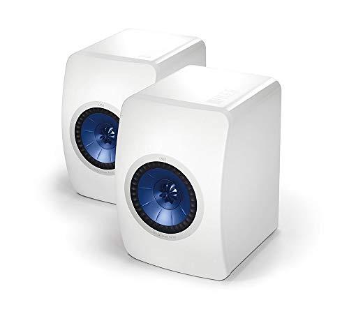 KEF LS50 Weiss Lautsprecher Paar, HiFi | Heimkino | Regallautsprecher | Boxen | Stereo | High End | 2 Wege