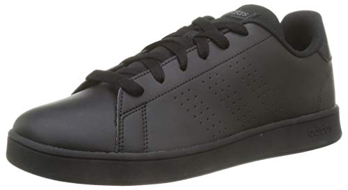 adidas Advantage K, Scarpe da Tennis Unisex-Bambini, Core Black/Core Black/Grey Six, 39 1/3 EU