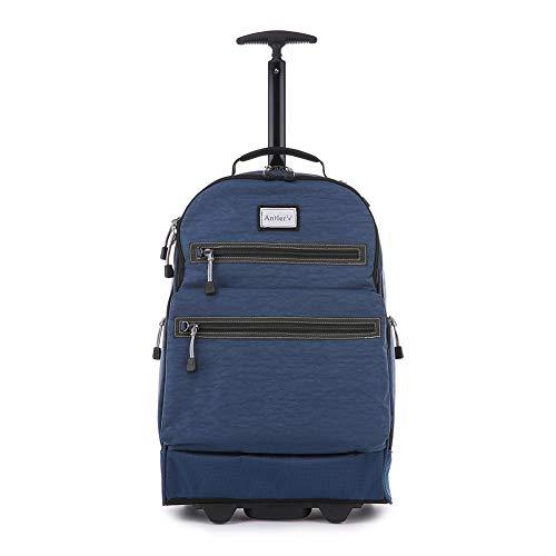 Antler Urbanite Evolve Trolley Backpack, Durable Travel Pack (Navy)