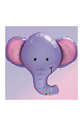 Qualatex 16136 Folienballon Ellie der Elefant, 99,1 cm