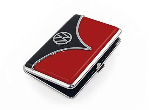 VW T1 Bus Estuche de Tarjetas - Rojo/Negro