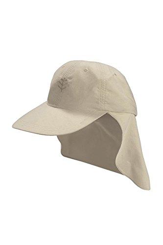 Coolibar Jungen Sonnenkappe UV-Schutz 50+ Sonnenhut, Grau, L/XL/57CM