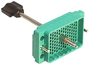 516-120-000-101 - Connector Housing, Green, Actuating Screw & Polarizing Hardware, 516 Series, Plug, 120 Positions (516-120-000-101)