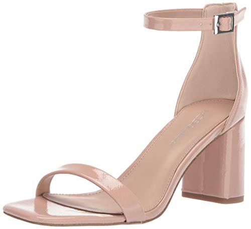 BCBGeneration Women's Talia Two Piece Sandal Heeled, Blush, 9 M US