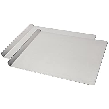 AirBake Natural 2 Pack Cookie Sheet Set, 16 x 14 in