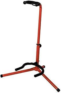 BSX A-Style - Soporte para guitarra acústica y eléctrica, color rojo