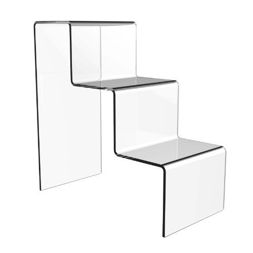 Acrylic 3 Step Counter Display Stand - Free Shipping!