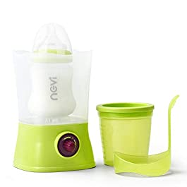 NCVI Baby Fast Bottle Warmer for Breastmilk- Baby Food Heater Quickly Warm- Fits Most Bottle Size