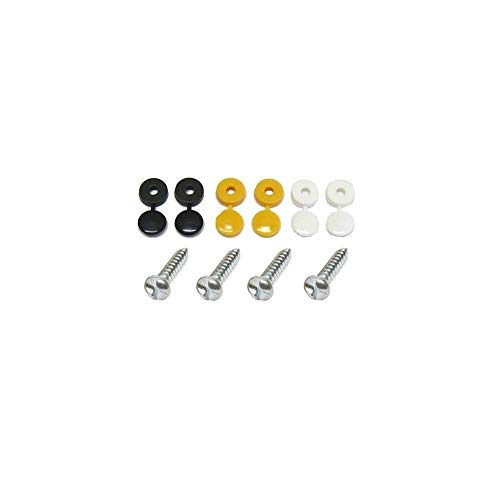 BEK-FIX Anti-Theft Number Plate Tamper Proof Clutch Head Security Screws Fixing Kit