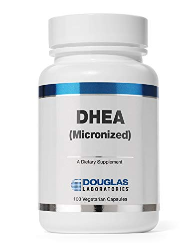 Douglas Laboratories - DHEA 50 mg - Micronized to Support Immunity, Brain, Bones, Metabolism and Lean Body Mass - 100 Capsules