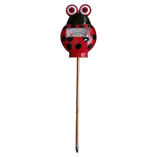 AM Conservation Group Indoor & Outdoor Soil Moisture Meter - Simply Conserve | Ladybug Themed Moisture Meter for Plants w/Easy to Read Dial | Single Pack (MM071-L)