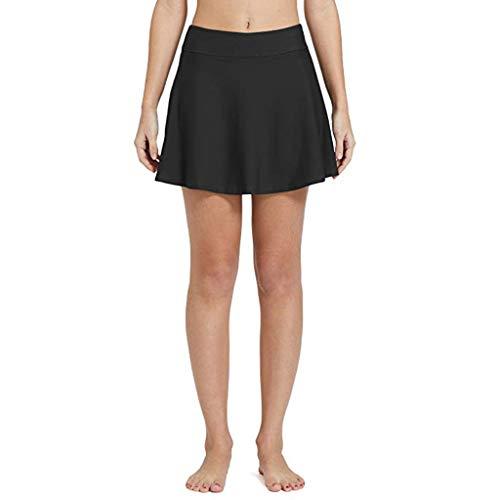 Bfmyxgs Damenschwimmenrock Reizvolle Weise Normallack Bikini Einfache Wilde Wesentliche Rockhosen