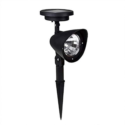 HZWLF LED Rasen Solar Spotlight Outdoor Solar Lampe mit automatischem EIN/Aus-Sensor Wasserdichtes Gartenlicht