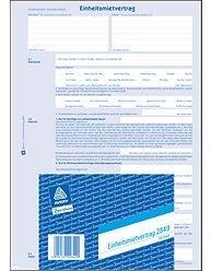 AVERY Zweckform Einheitsmietvertrag 4-seitig, A4, 2849