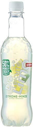 Die Limo Leicht Zitrone-Minze, 18er Pack, EINWEG (18 x 500 ml)