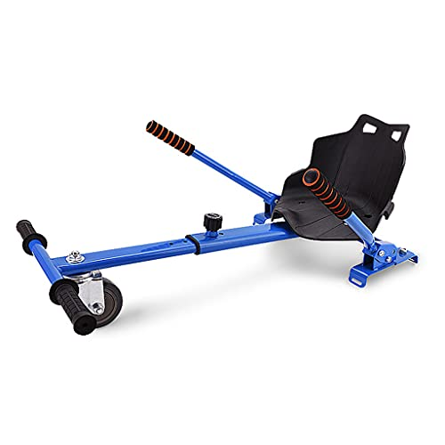 Accesorios para Karts Hoverboard de Dos Asientos Ajustables para Scooters eléctricos de autoequilibrio Que se adaptan a tamaños de Tablas flotantes de 6.5', 8' y 10'Hoverkart para hoverboards