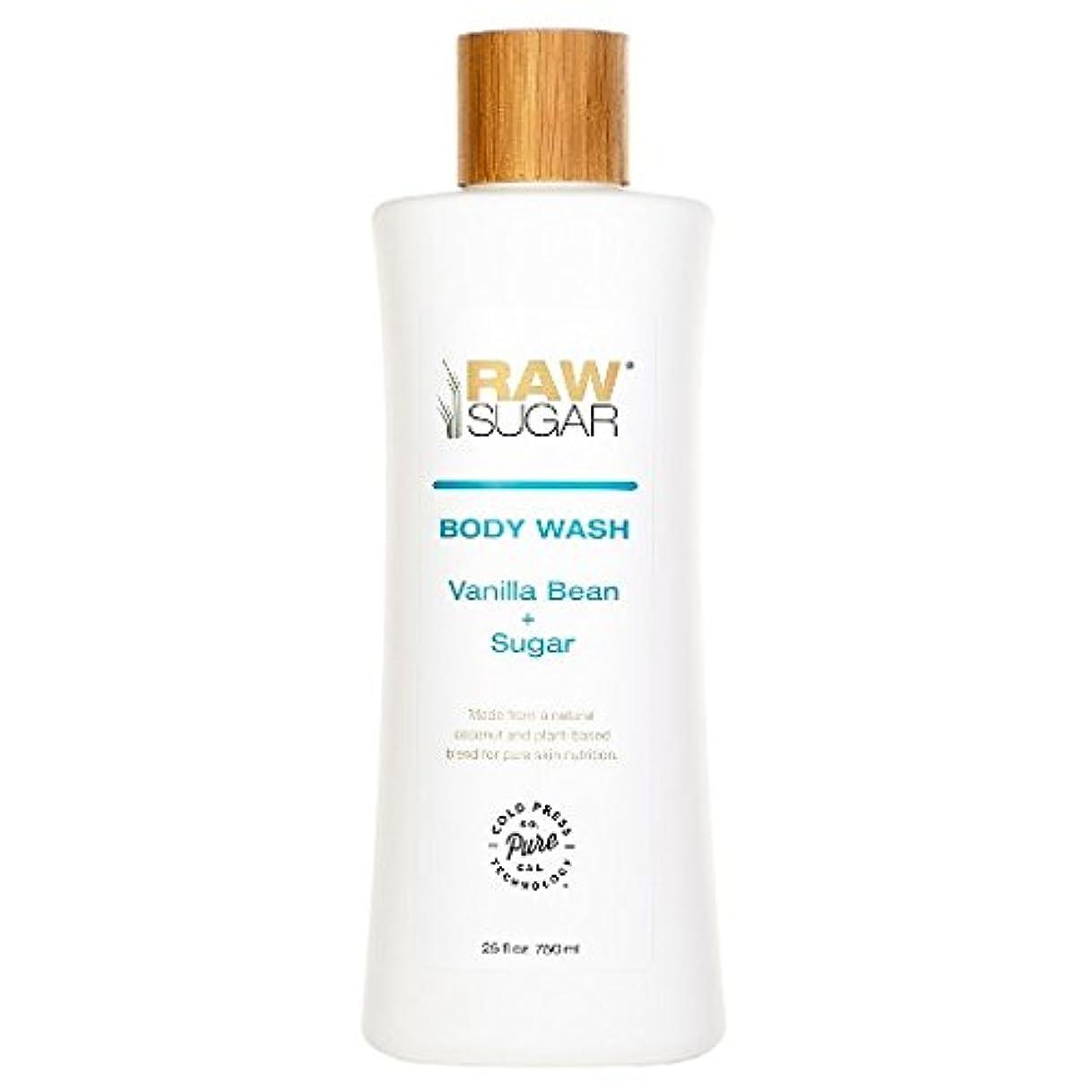 慣性葉を拾うジョセフバンクスRAWTM Sugar Awash in Expectation Vanilla Bean+Sugar Body Wash - 25 oz by raw