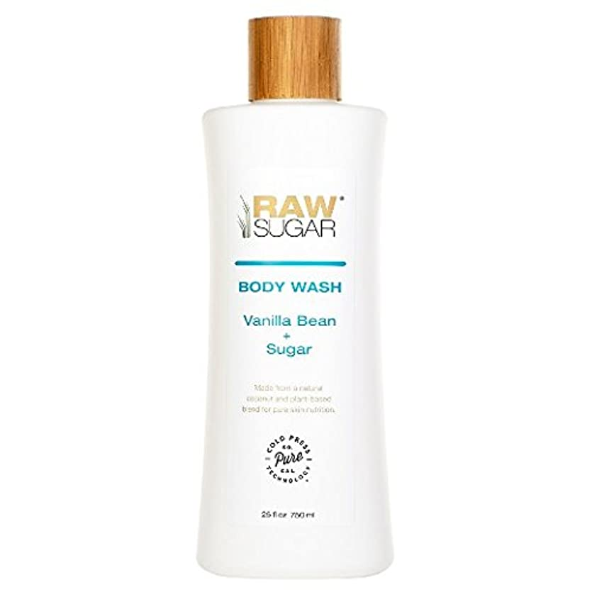 ライオン動物園物理学者RAWTM Sugar Awash in Expectation Vanilla Bean+Sugar Body Wash - 25 oz by raw