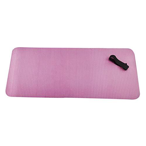 freneci Cojín Antideslizante de La Almohadilla de La Rodilla de La Estera de La Yoga para El Gimnasio de Pilates del Tablón del Entrenamiento de La Aptitud - Rosa