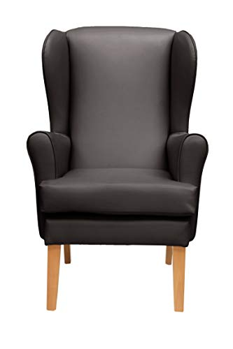 MAWCARE Morecombe Orthopaedic High Seat Chair - 21 x 21 Inches [Height x Width] in Manhattan Brown (lc21-Morecombe_m)
