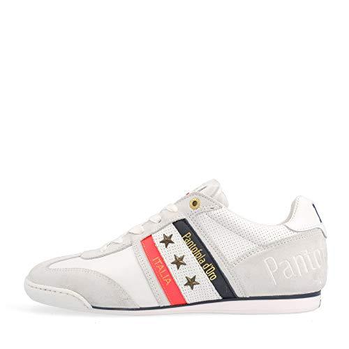 Pantofola d'Oro Baskets Low Imola 2.0 Neon Uomo Low pour homme - Blanc - Bright White 10211034 - 1 fg, 42 EU