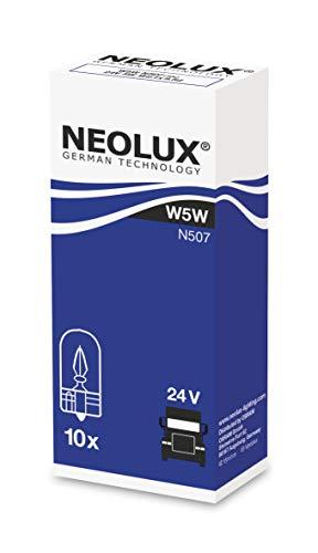 NEOLUX Standard W5W, lámpara de señal para camiones, N507