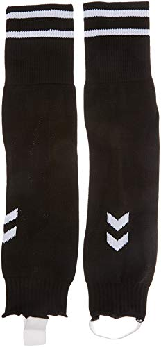 hummel Element Football Sock Footless, Schwarz/Weiß, 1