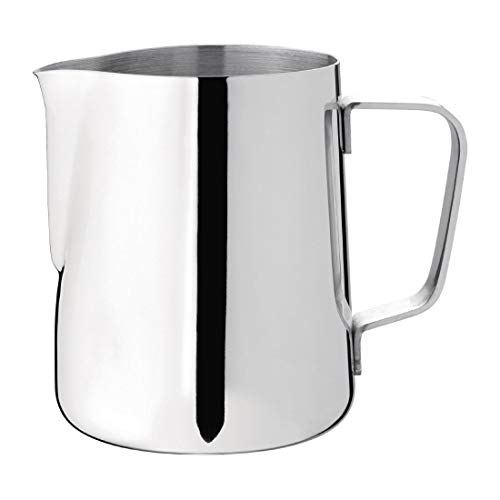 Lait ou de Cruche d'eau 110 x 80 mm en acier inoxydable Mug Tasse Pot à lait Pichet