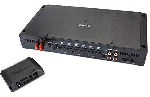 Kenwood Excelon P-XR600-6DSP 6-Channel Car Amplifier with Digital Signal Processing and Maestro AR Interface