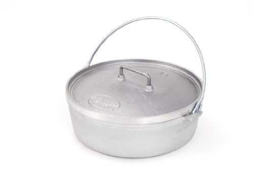 GSI Outdoors Aluminum Dutch Oven, 10-Inch, 2-Quart