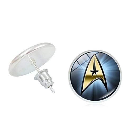 Bosi General Merchandise Star Trek, Time Gem, Metallkreativ, Ohrstecker, Kreativgeschenke