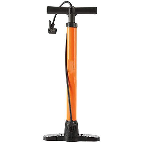 XMSIA Bomba Bomba de Alta presión Bomba de Baloncesto Bomba de Aire Bomba de Aire Bomba de Bicicleta Bomba Multiusos Neumático de Bicicleta (Color : Orange, Size : 25x60cm)