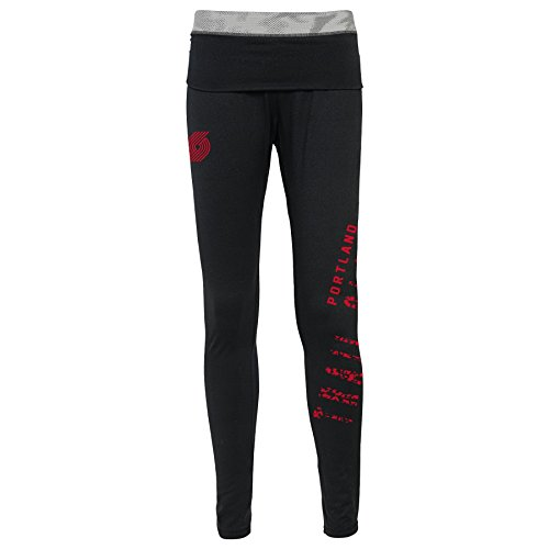 Leggings de la NBA para niñas'Elastic Heart', Portland Trail Blazers, Juniors X-Small(0-1)